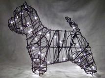 Westie Topiary Dog Sculpture