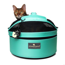 Robin Egg Blue Sleepypod Pet Bed Carrier