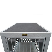 Shown with grooming top added - crate NOT included