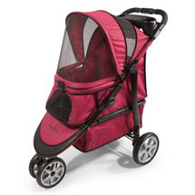 Gen7Pets Platinum Monaco Red Geometric Pet Stroller