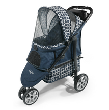 Gen7Pets Platinum Monaco Dress Blues Pet Stroller