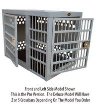zinger deluxe frontside door aluminum dog crate box