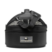 Jet Black Sleepypod Mini Pet Carrier