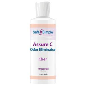 Assure Ostomy Pouch Lubricating Deodorant Gel 8 ounce