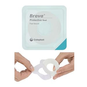 "12037 Coloplast Brava Protective Seal, 3/4"" Starter Hole, Thin"