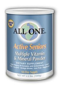 All One for Active Seniors - (2 jars - 2.2 lb. per jar)