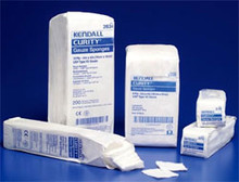 "Curity Gauze Sponge Non-Sterile 2""x2"" 12 ply"