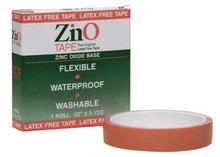 "ZinO Tape 1"" x 5 yards"
