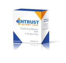 "Entrust Ostomy Skin Barrier Ring 4"" with FortaGuard"