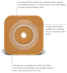 """SUR-FIT Natura Stomahesive Skin Barrier with Flange, without tape collar (overall dimension 4"""" x 4"""")"""