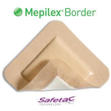 "Mepilex Border Self-Adhering Foam Dressing 6""x6"""