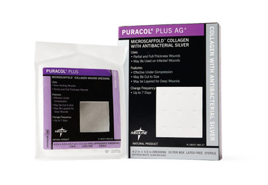Puracol Plus Collagen Wound Dressings, each