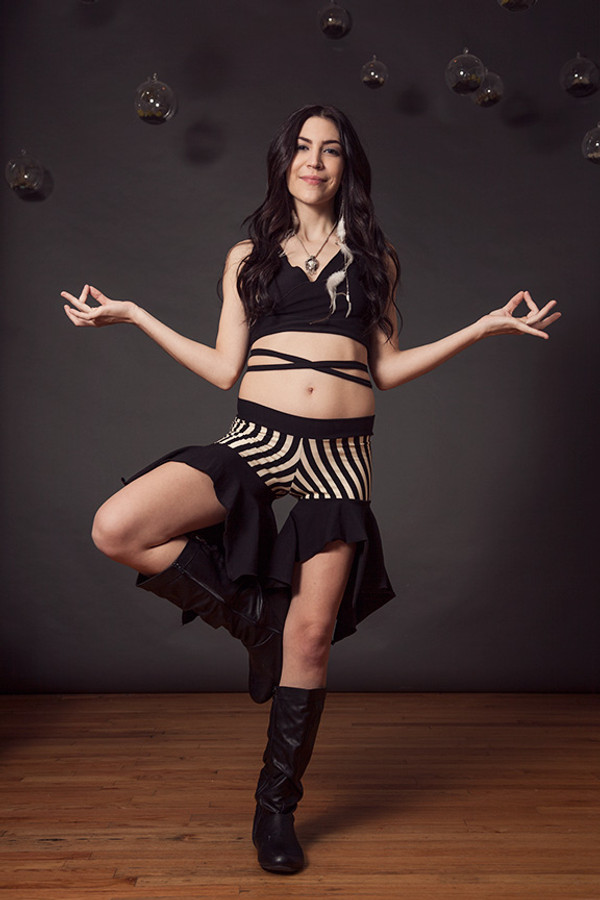 Stripe Ariella Shorts