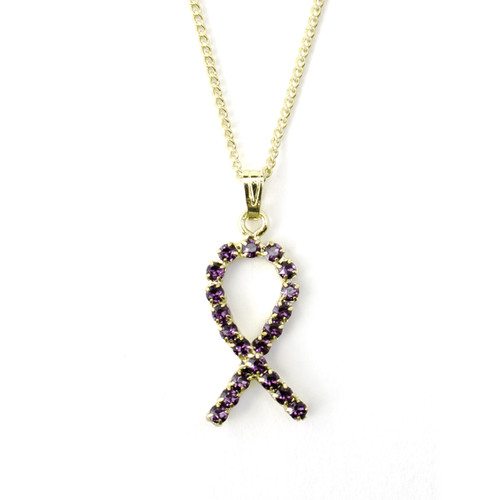 Crystal Ribbon Necklace