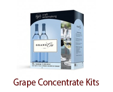 Grape Concentrate Kits