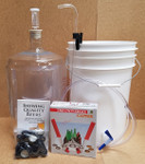 Basic Equipment Kit w/Plastic Carboy