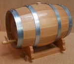 French Oak Barrel w/Stand - 10 Liter