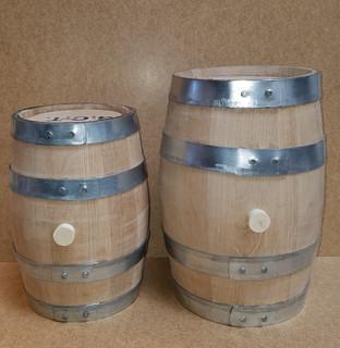 1 and 2 gallon barrels