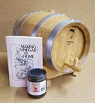 French Oak Barrel Vinegar Kit  w/stand - 10 Liter