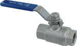 "3/4"" Stainless Steel Ball Valve"