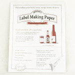 Label Paper - White (18 sheets)