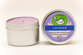 Lavender Travel Tin