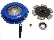 SPEC Clutch For Chrysler Laser 1984-1987 2.2L non-turbo Stage 4 Clutch (SD284)