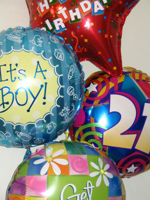 Helium Foil Balloon 45cm