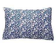Indigo Hamptons Floral Pillow Cover