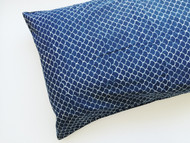 Indigo Fish Scales Pillowcase