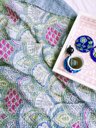Cinque Terre Kantha Quilt - preorders open