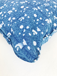 Indigo Garden Cushion Cover