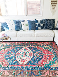 Gypsy  Upcycled Rug