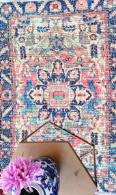 Naaz Marrakesh Upcycled Rug Runner -sold out