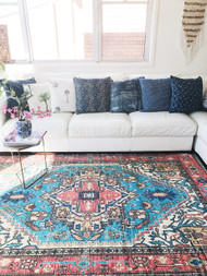Boheme Upcycled Rug -sold out