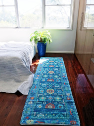 Aurelia  Upcycled Rug Runner