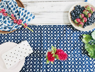 Indigo Hamptons Table Runner