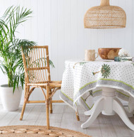 Polka Dot Palm Tree Square Tablecloth (180 X180 cm) -preorders open