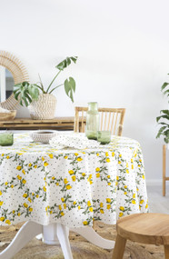 Capri Limoncello  Round Tablecloth (180 cm diameter)