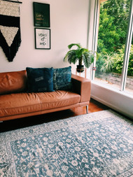 Boho Hamptons Upcycled Rug - sold out