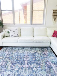 Ikat  Upcycled Rug