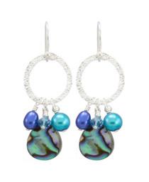 Estrella Earrings- Cobalt