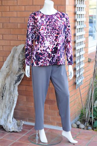 Winter Weight Long Capri Pant