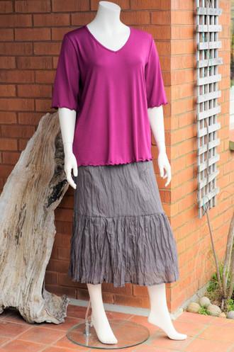 Crinkle Frill Skirt
