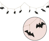 Halloween Bat Garland Party Accessory