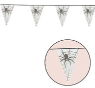 Halloween Spiderweb Extra Long Bunting Party Accessory