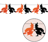 Halloween Spooky Witch Garland Party Accessory