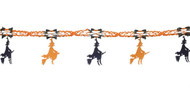 Halloween Witch Garland Party Accessory