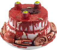 Halloween Gory Gourmet Zombie Cake Party Prop