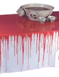 Halloween Blood Covered Tablecloth